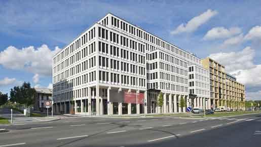 C&W: 216 583 кв.м. офисных площадей будет построено в Праге в следующем году