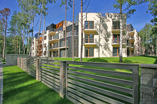 В Латвии отмечен рост расходов на возведение зданий
