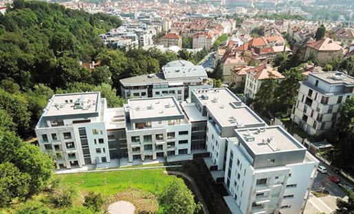 В Праге активно растет ценник на жилье