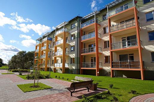 В Латвии растут цены на старое жилье