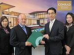 Начало строительства квартирный недвижимости Con Koh Samui Residences