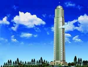 Сооружение высочайшей квартирной вышки во всем мире в Дубае проходит по графику