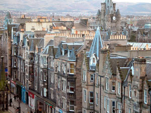 Residential property sales reach a seven year high in Scotland